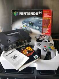 Nintendo 64 console, games and accessories