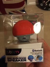 Boom mini mushroom Bluetooth speaker