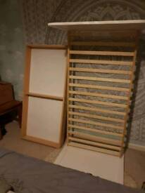 Toddler bed and cot 2 in 1