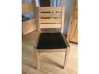 4 (four) M&S Solid Oak Sonoma Dinning Chairs