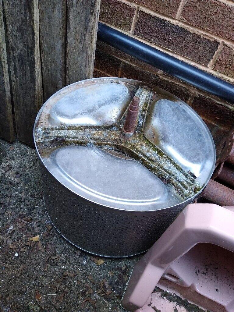 Washing machine drum-recycle