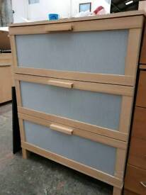 3 draw Ikea chest of drawers