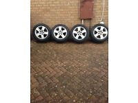 16inch Audi alloy wheels and tyres