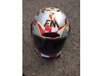 Motorcycle helmet taz devil still avalable 11/11