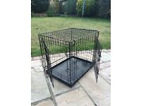 Ellie-Bo Folding Dog/Puppy Crate 24""