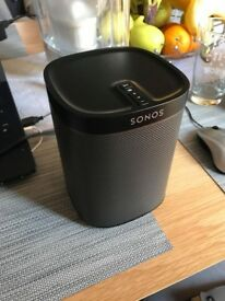 SONOS Play 1: Smart Wireless Speaker, Black