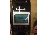Panasonic Digital Cordless Home Wireless Phone Black