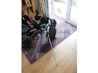 used set of texan classic golf club and bag