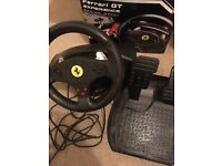 GT Ferrari Experience Racing Wheel PS3 and PC compatible