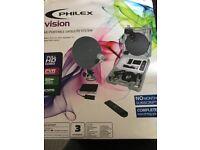 Philex vision he portable satellite systems