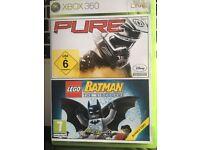 Pure and Lego Batman Xbox 360