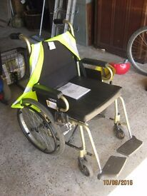 Invacare wheel chair, brand new never used