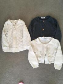 Girls Summer Jacket And Cardigans Age 18-24 Months