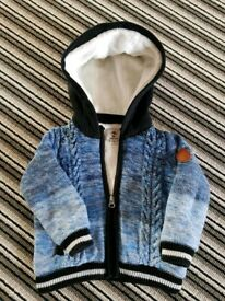 Timberland Knitted Hooded Jacket