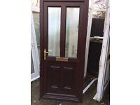 Upvc brown rose wood Upvc doors