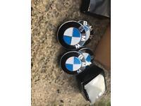BMW centre caps
