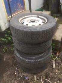 Landrover discovery wheels set of 4 £100