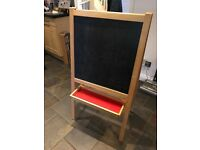 Children's blackboard/whiteboard Easel