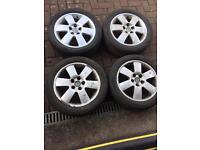 "VW POLO SKODA FABIA SEAT 15"" alloy wheels"