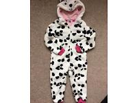 John Lewis girls onesie age 2 years