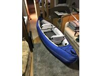Sevylor inflatable canvas, 2 person kayak