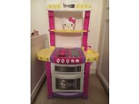 Hello kitty toy kitchen water lights and noise