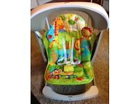 Fisher-Price Rainforest Take-Along Swing & Seat With Music/Vibration