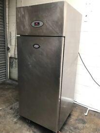 Foster commercial one door upright fridge, short hight style!