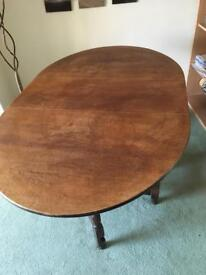Drop leaf dining table £50