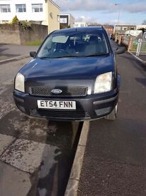 54 plate ford fusion 1.4 5dr