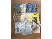 Baby Boy Top / Tshirt Bundle 0-3 Months including Next - As New!