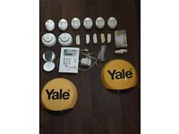Yale HSA series alarm - complete kit for your home - excellent working order!