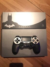 Batman: Arkham Knight Limited Edition PS4 with game