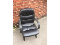 Leather faux chair 3 available