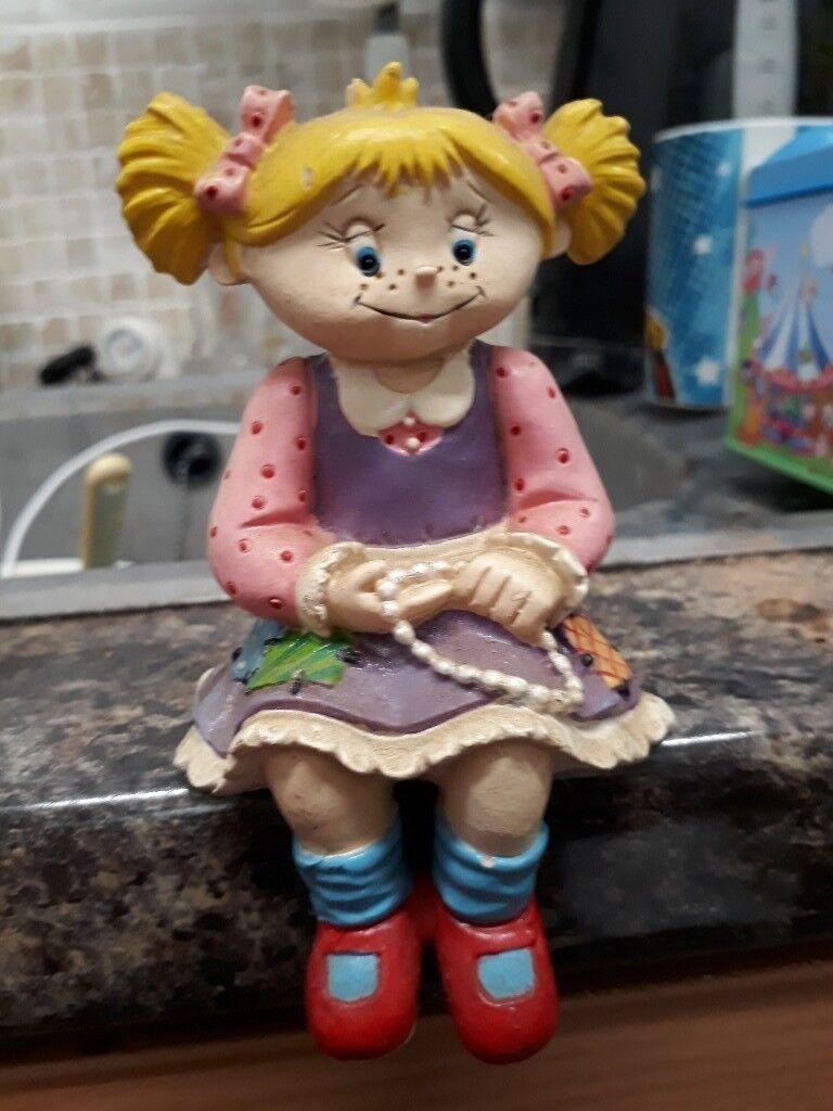 Doll Girl Ornament