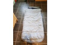 Child's ready bed - Sleeping bag and airbed in one
