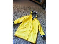 Yellow rain mac age 11-12yrs