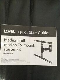 Medium tilt and turn bracket