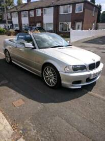 Bmw 325ci msport convertible 2.5