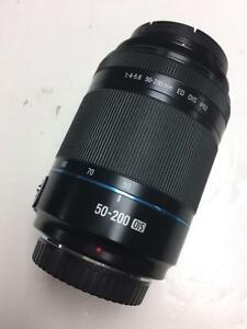 Samsung 50-200mm OIS f4-5.6 ED lens ex++ used one wedding with 90 days warranty