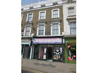 MARE STREET, HACKNEY, E8 - 1 BEDROOM TOP FLOOR FLAT UNFURNISHED