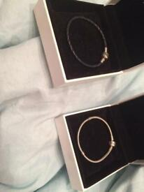 Pandora bracelets and charms