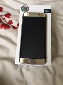 SAMSUNG Galaxy S6 Edge Brand new condition