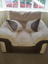 FREE armchair. Good condition, some damage but this is hidden behind the seat see photos