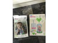 Fill n squeeze baby food pouch maker