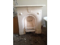 Lovely original cast iron fire surround (offers accepted)