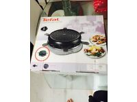 """""""TEFAL"""" JOUR DE FETE TRADITIONAL RACHLETTE FOR 6 PEOPLE IN GOOD WORKING ORDER"""