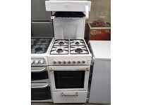 FLAVEL free standing top grill full gas cooker 50 cm width fully working order