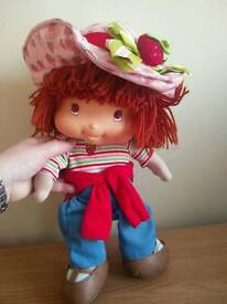 Talking Strawberry shortcake toy