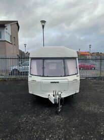 1999 lunar 4 berth end bathroom light weight easy to tow